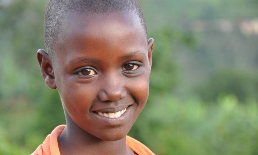 Patenkinder blicken positiv in die Zukunft. Das können sie, weil Patenschaften ihre Bildung sichern, gesunde Ernährung garantieren und den Gang zum Arzt möglich machen.