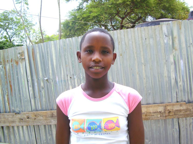Yvette aus Ruanda mit 11,5 Jahren