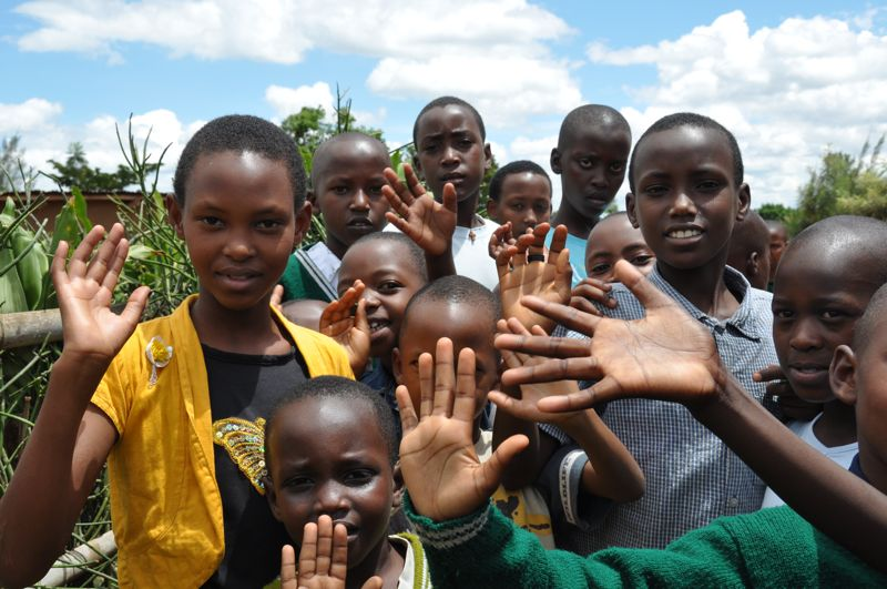 01 Waisen aus unserem Projektstandort Bikumbi