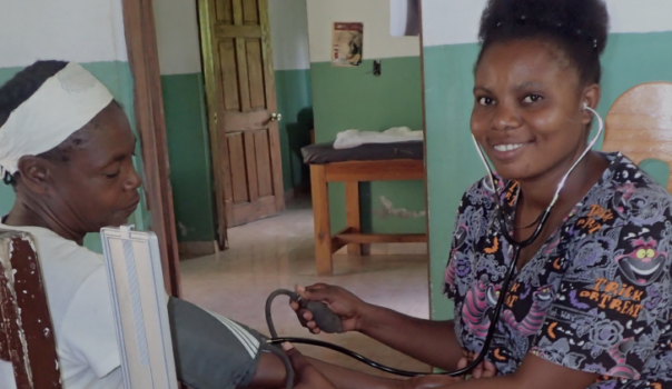 Krankenschwester Haiti